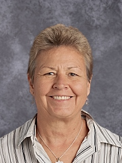 Joyce Ell, School Secretary and Assistant to the Principal  (2002)